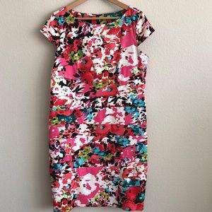 EUC AGB Dress Floral Print SZ 16